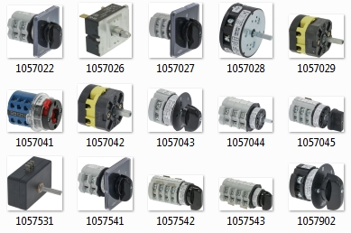 SELECTOR SWITCHES FOR COFFEE MACHINES AND FOOD PROCESSING MACHINES